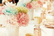 Baby shower centerpieces / by GagaGallery Wheeler3Designs