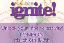 I Can Do It: IGNITE - March 2014 / Affirmations and graphics relating to the speakers at our Ignite conference on 8th & 9th March this year. Find out more at: http://i-can-do-it-ignite.co.uk/