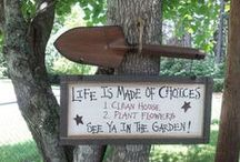Signs For My Garden