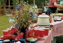 Backyard  BBQ / Cookout Party / Family & Friends...Great Food...Wonderful Combination!