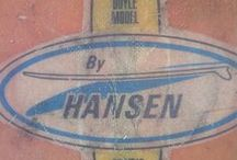 Hansen Surfboards / Hansen Surfboards was founded in 1961. We are family owned and operated and take great pride in what we do. Here are some vintage shots of our boards