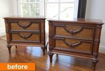 Furniture Re-hab / Tips, tricks, and tutorials for re-habbing old furniture / by Rita