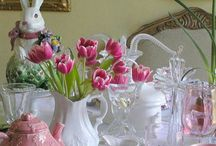 Easter / Easter egg decorations and desserts / by Kathleen Hranowsky