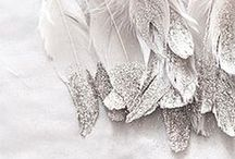 The Silver Lining / Take inspiration from silver sheen and look chic in white gold