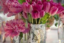 Kukkia ja kodin koristelua
