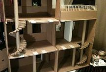 Dollhouses and Playsets Diy / by spencer holmes