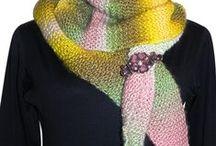 Cachecol croche e trico / by Lúcia vasques