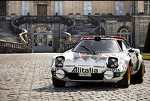 Lancia Stratos. / A variety of Lancia rally cars. Including the Stratos HF in differing guises and on many International rallies around the world. / by Alan Burford-Salter