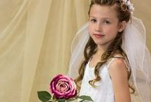 Beaded Ballerina Style First Communion Dress Style 6510 / Tea length ballerina style first communion dress with exquisite beading details  http://www.firstcommunions.com/FirstCommunionDresses-6510.aspx