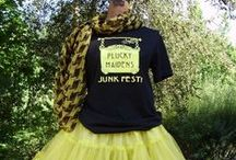 Plucky Maidens Summer Junk Fest! / Scenes from Plucky Maidens Summer Junk Fest! in Portland, Oregon. The 2015 Summer Junk Fest! is FRIDAY, July 24, 2015 at Oaks Amusement Park, 7805 SE Oaks Park Way, Portland, OR 97202.  Early buying from Noon - 2:00 pm ~ $10 admission ||| 2:00 pm - 7:30 pm ~ $5 admission. Cash admissions only, please! 75 fabulous vendors!  Food trucks!  Beer & wine! Live music by The Student Loan at 5:00 pm.