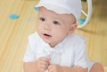 Boys Paisley Christening Shorts Set / Satin christening shorts with paisley vest. Matching hat included.  http://www.christian-baby.com/