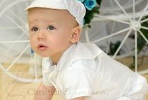 Boys Baptism Suit with Vest and Hat / Boys christening romper made of Poly cotton short set with basketweave vest and hat  Made in USA http://www.christian-baby.com/