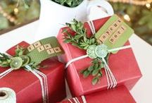 Beautiful Wrapping Ideas / Inspiration to make your gifts super pretty.