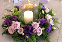 Centrepiece flower arrangements