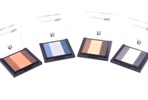 Eyeshadow Trios / Fashion inspired, each of our four Eyeshadow Trios are made up of three blendable shades.  Each colour is carefully selected to compliment the other with more of the most used base coat whilst the other two darker shades are perfect for contouring and lining the eyes.