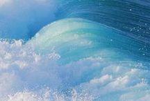 Ocean blue / Ocean - Sea - Water - Blue - Fish - Boats