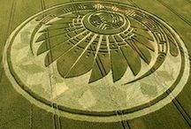 Crop Circles / A crop circle is a sizable pattern created by the flattening of a crop. It is also called crop formation because it's not always a circle.