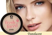 Fresh Faced Powder / Now joining the Fresh Faced family, Fresh Faced Powder from Miners Cosmetics! Use with Fresh Faced Foundation for a gorgeous, natural complexion.