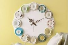 Kitchen Clocks / Add a dash of Spice, vegetables or just great food with our clocks for your kitchen! www.justforclocks.com