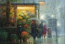 Rain Art 2 / by Greg Speck