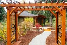 Feng Shui Landscapes and Outdoor Spaces / Apply Feng Shui outdoors - embrace your home and your yard!  Fill in missing guas, create soft corners, welcome wildlife and birds, breathe deeply with the gifts to Mother Earth.