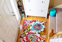 Hallways, Foyers, and Stairs / Great ideas for those spaces that aren't quite rooms but are so important for chi flow!