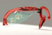 Sci-Fi eye piece / Cool images for how people conceptualize the future of augmented reality wearables