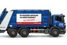 mBank - Śmieciarki / Ambientowa i outdoorowa kampania eKonta w mBanku