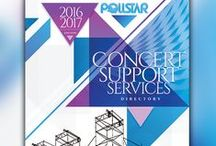 Pollstar Directories / POLLSTAR publishes six directories: Booking Agency, Concert Venue, Talent Buyer, Concert Support Services, Record Company, Artist Management