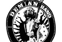 """""""Album Covers"""" / DEMIAN BAND """"Goin' Ahead"""" 2015 """"Recorded LIVE Europe / U.S.A. TOUR 2013"""" (Full CD): http://www.youtube.com/watch?v=0cVMrEVe2WY """"TATTOO'D FISH"""" (Full CD): http://www.youtube.com/watch?v=r-eyQ2CPT2k """"DEVIL BY MY SIDE"""" (Full CD): http://www.youtube.com/watch?v=N6dgWPTDvdQ"""