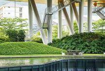 gardens - modern