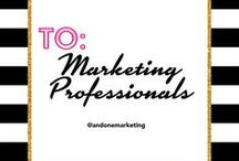 FOR MARKETING PROFESSIONALS