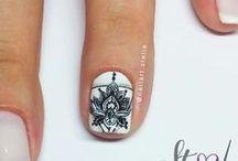 """""""Stelove"""" boho - mandala style / Handpainted Nail Art"""