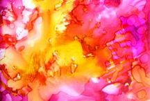 Alcohol Ink Projects / by Charlene Howington
