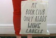 Book Club / Our wine club has a book problem...