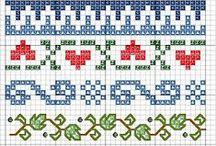 Cross Stitch - Cenefas