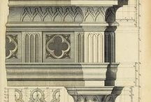 Architectural classical presentation
