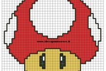 Cross Stitch Super Mario