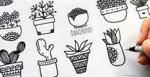 Doodles & icônes / Icônes, symboles, pictos, doodles...