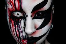Special FX Makeup & Contacts / Special Effects Makeup Ideas, paired with FX Contact Lenses.