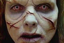 Demon Makeup & FX Contacts / Demon special effects makeup ideas paired with FX contact lenses