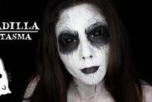 Ghost Makeup & FX Contacts / Ghost special effects makeup ideas paired with FX contact lenses
