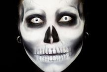Skull Makeup & FX Contacts / Skull & Skeleton Special Effects Makeup & FX Contacts Ideas.