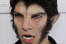 Werewolf Makeup & FX Contacts / Werewolf Special Effects Makeup & FX Contacts Ideas.