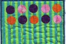 Quiltspiration / Ideas for quilting - beautiful quilts - patterns, colours and textures