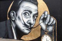 Street Art Design / Arte de rua; grafites; mensagens; artistas