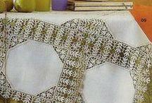 Dantel, masa örtüsü, havlu kenarı / by Selma Başar Altınkaya