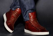 TOM FORD MEN'S SNEAKERS / TOM FORD launches men's sneakers. Handcrafted in Italy, the sneakers are made over a one week process of stitching, polishing and resting the leather. Shop Sneakers: http://tmfrd.co/QDtjFc  / by TOM FORD