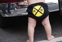 Rugged Boy Bloomer / The original diaper cover for little boys! / by RuggedButts