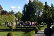 Real #Wedding John and Louise / Intimate wedding - civil ceremony at the bandstand in Autumn sunshine